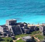 Tulum: Una joya de México, frente al mar / Tulum es una de las ciudades mayas de mayor relevancia y en general es uno de los sitios arqueológicos más representativos de la cultura prehispánica mexicana. Se presenta como un atractivo sumamente llamativo para personas que buscan diversos tipos de actividades turísticas ya que presenta ruinas mayas, hermosas playas, la posibilidad de realizar buceo en el área del cenote Dos Ojos y visitar el parque ecológico LabnaHa