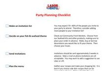 Party Ideas / Entertaining