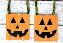 Holidays - Halloween / Halloween kids crafts, party decorations, home decor, snack and food recipes, party activities and more. Halloween fun, not spooky!