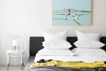 Bedroom spaces and colours