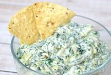 Recipes - Snacks and Appetizers / Snack recipes that are crunchy, sweet, salty and appetizers for entertaining party guests / by Jen @ TheSuburbanMom.com