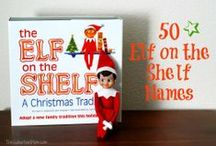 Elf on the Shelf / Clever Elf on the Shelf ideas to get you through the season. Lots of laughs with these fun Elf ideas.