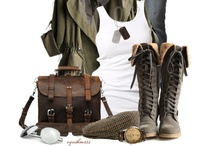 My Style / Anything and everything that I would wear. Aka my dream wardrobe. / by Teryl Dactyl