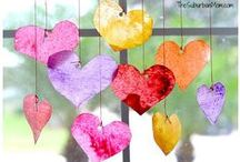 Holidays - Valentine's Day / Valentine's Day kids crafts, party decorations, home decor, snack and food recipes, party activities and more.