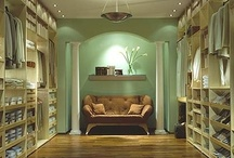 Ideas, walk in closets. / Would love to have one - or the space for one.
