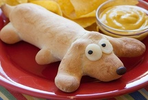 Let's eat - for the kids.. / Food that can be fun to make with the kids - or just surprise them with a funny meal.. =)