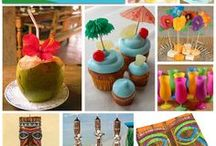 Tikki Party Ideas / Luau Tiki Party decorations, crafts, food and ideas.  / by Jen @ TheSuburbanMom.com