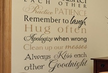 House Rules Decals