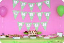 Strawberry Shortcake Birthday / Throw a Strawberry Shortcake birthday party with fun strawberry foods, cakes, drinks, activities and games! / by Jen @ TheSuburbanMom.com