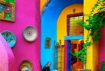 Colourful Things & Places / Colourful Places & Photos