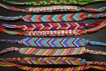 Friendship Bracelet Patterns / Learn how to make friendship bracelets for all your pals with free friendship bracelet patterns, friendship bracelet designs, friendship bracelet instructions, string bracelet patterns, macrame bracelet patterns, hemp bracelet patterns, friendship bracelet earrings, and more.
