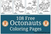 Octonauts Birthday Party Ideas / Decorations, favors, food, free printables & ideas for an ocean-themed Octonauts Birthday Party.  / by Jen @ TheSuburbanMom.com