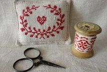 hand craft & stitchin / by mariella confused
