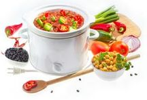 Recipes - Crockpot / Use your crockpot (slow cooker) to make delicious meals and even snacks / by Jen @ TheSuburbanMom.com