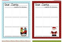 Christmas Printables / Christmas printables that you can customize and print at home. All kinds of printable decorations, holiday cards, games, activities and more.