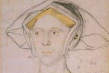 Women Wearing English Gable Hoods / by Ann Etheridge