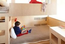 Builtin Bunks + Kids Storage/Desks