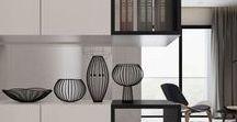 Кухня дизайн / Идеи для оформления кухонного пространства. Места хранения продуктов, инвентаря и тд. Интересные сочетания фактур и цветов. Декорирование.