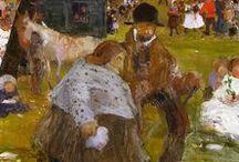 Witold Wojtkiewicz (1879 - 1909) / malarstwo