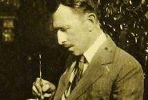 Władysław Teodor Benda (1873 Poznań - 1958 Newark, New Jersey) / bratanek Heleny Modrzejewskiej, Wit Benda, Polish-American painter, illustrator, and designer.