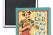The Zazzle Kitchen! / Kitchen ware has never been so much fun with Zazzle! Whether you want mugs, teapots, trays, tea towels or any other Zazzle products you'll find them here!  / by Mrs Cookie