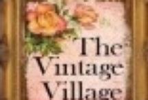 Shops @ The Vintage Village / Social Network for those vintage items being offered with market places, venues, blogs, your own websites, etc. Place to show your things, offer your treasures, meet some great people, and to learn together too.