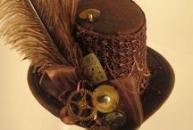 Steampunk Love: Victorian Romance meets Science Fiction and Mechanical Technology / by Maria Carey Jackson / CraftyMACJ