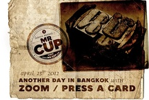 "MR.CUP travel in Asia / Visit letterpress shop ""Press A Card"" in Thailand"