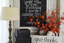 Seasons - Autumn / Decoration and recipie ideas for my favorite season of all! Fall for the best season around!
