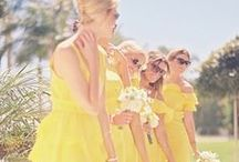 Yellow Wedding Ideas / From pale lemon to deep yolk, let our yellow wedding ideas inspired your special day!