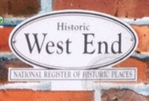 Historic West End Atlanta Marble Coasters / Historic West End Atlanta Marble Coasters