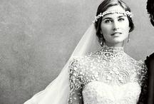 Lace Wedding Ideas / So elegant and full of vintage charm. Lace wedding ideas.