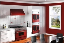 Cooking With Color! / Bright, happy, and different. Shake up the normal kitchen design with some cool colors!