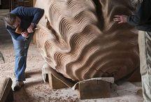 SCULPTURE in wood / Sculpture in wood