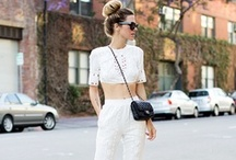 Style inspiration- White / by Dragana Duric