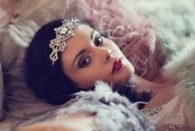 Great Gatsby Inspired Vintage Wedding Ideas / Create a vintage wedding inspired by the movie release of F. Scott Fitzgerald's Great Gatsby. Let our ideas inspire your glamorous bridal style and special day theme.
