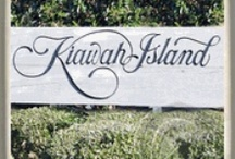 Kiawah Island, South Carolina Marble Coasters / http://customcoastersbyhazel.com
