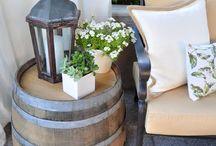 Decor - Outdoor / Outdoor ideas from porches to gardens