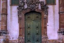 Portals - Doors / Beautiful and unique doors that make you wonder what lies within... / by Chellie Hailes
