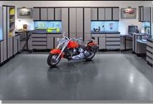 Garage Mahal / Great garages and garage storage and organization tips / by Chellie Hailes