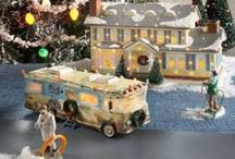 Christmas Village Displays / Inspiration for Christmas Department 56, Lemax, and Hawthorne village displays