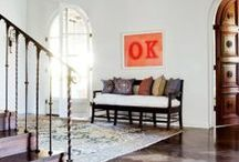 Entry Spaces / Entry & Hallway ideas / by Casey