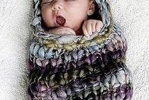 Baby cuddle sacks