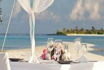 Honeymoon Destinations / After months of planning and the whirlwind of activity in the build up to your wedding (not to mention the suffering you've gone through to fit into the dress) your honeymoon is the chance to unwind and spend some quality time with your husband.