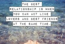 Love & Wedding Quotes / Inspirational words of love!