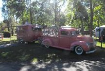 On the Road Again! / Recreation vehicles - Trailers, haulers, motorhomes, campers, and overnight sites -- / by Chellie Hailes