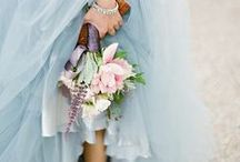 Pink & Blue Wedding Ideas / Softest pink & baby blue with a hint of white for a feminine & enchanting wedding colour scheme.