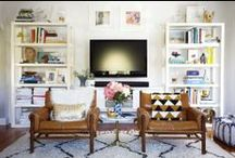 Living spaces / Ideas for the living room / by Casey