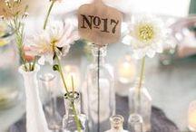 Pretty Wedding Reception Decor / Beautiful ideas for dressing your wedding reception venue