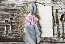 Table Dressings / Table settings and tablescapes. / by Chellie Hailes